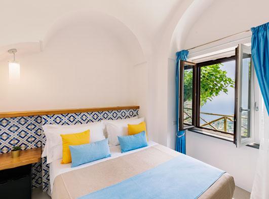 Monte Brusara Relais rooms in Ravello